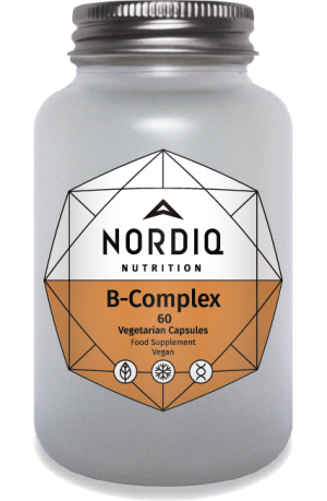 Bioactive B-vitamins with Vitamin C and adaptogens